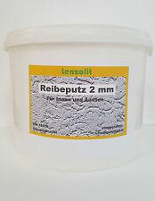 Reibeputz Modellierputz Siliconharzputz Kratzputz Rillenputz  2mm (0,99€/kg)