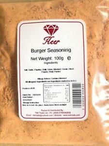 Burger Seasoning 100g - 1Kg