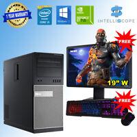 Fast Gaming PC Computer Bundle Intel Core i3 16GB RAM 1TB Windows 10 2GB GT710