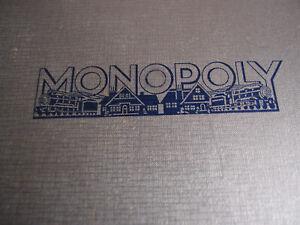 Uraltes Monopoly Spiel