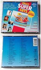 ITALO SUPER HITS Toto Cutugno, Battisti, Ricchi E Poveri,... Ariola 2-CD-Box TOP