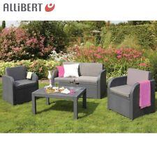 Allibert Lounge-Gruppe Mississippi Graphit