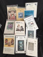 10 wall hanging pattern Lot / christmas/nature/folk/etc . Overstock From Retail