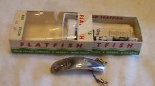HELIN FLATFISH F6 LURE   01/01/18NY  IN BOX FLY ROD