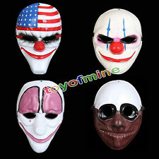 Joker Mask Anonymous Halloween Cosplay Fancy Dress Costumes Party Props