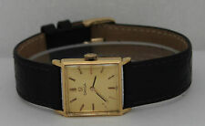 Vintage Omega Hand-Winding 18K Yellow Gold Circa 1950s Watch
