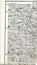 Medelby Jardelund Tinglev 1923 Karte /Ln. Weesby Terkelsbüll Kraulund Eggebek