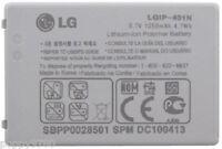 OEM Li-Ion LGIP-401N 1250mAh 3.7V Cell Phone Battery For LG MN510 Banter Touch