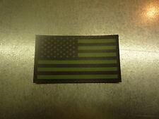 "NO LOGO FWD USA ODGREEN IR FLAG solasX 2ND 3.5""X2"" WITH VELCRO® BRAND FASTENER"