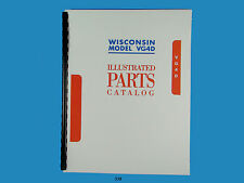 Wisconsin   VG4D  Engine illustrated Parts Manual   *338