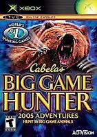 Cabela's Big Game Hunter: 2005 Adventures (Microsoft Xbox, 2004)