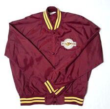 "Vtg Minnesota Golden Gophers Satin Stadium Jacket Sz XL Logo Patch 50"" Chest USA"