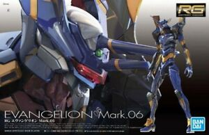 BANDAI Gunpla Real Grade Rg 1/144 Neo Genesis Evangelion EVA-06 MK-6 Mark 6