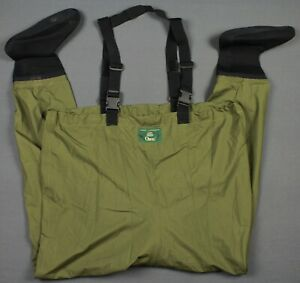 Orvis Chest High Fly Fishing Boot Wader Size LK Green RN3876