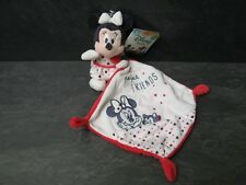 doudou minnie blanc rose prefect friends disney baby neuf