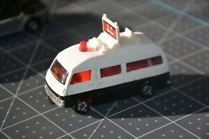 Mint Tomica 1970s Nissan Caravan PATROL CAR POLICE 1/67 No.3 Paddy Wagon