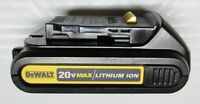 DEWALT DCB201 20V 20 VOLT LITHIUM ION 1.5AH 30WA BATTERY - NEW!