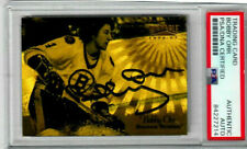 BOBBY ORR  signed 1996  PINNACLE COLLECTORS psa slabbed