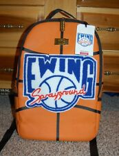 NEW NWT Sprayground orange basketball Patrick EWING backpack (missing wings)
