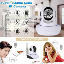 1080P Wireless Wifi IP Security Camera Home Surveillance CCTV System Monitor UK
