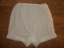 Vintage 60s Slippery Sheer Bri Nylon Double Bri Nylon Gusset Panties Knickers L