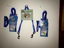 Sheppard & Greene Ferret - 2 Harness / Lead Sets+Tandem Coupler - Blue