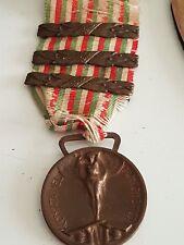 medaglia I guerra con tre fascette