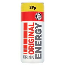 Euro Shopper Energy Drink ORIGINAL 250ml cans 24 cans