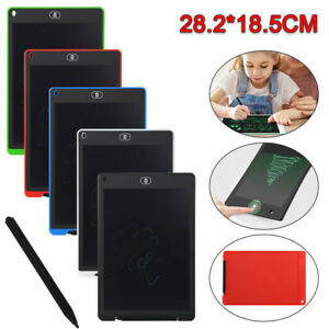 """12""""Electronic Digital LCD Writing Tablet Drawing Board Graphics for Kids  Gift"""