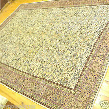 Muted Dyes Antique 1920s Legendary 7x10ft  Wool Pile Hereke Rug