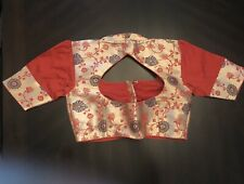 Designer Readymade Red  Pithani  Latest Saree blouse