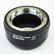 ELEFOTO M42 mount lens to Micro 4/3 MFT camera adapter GH4 OM-D G6 E-PL7