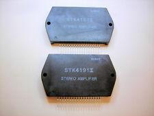 "STK4191II ""Original"" SANYO Stereo Amplifier 18P SIP  IC 2 pcs"