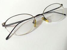 Emporio Armani bronze oval eyeglass frames 118 1168 47()19 130