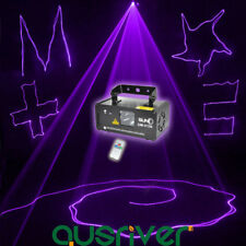 SUNY Purple Laser Line Scan Beam DMX DJ Dance Bar Club Party Disco Stage Light