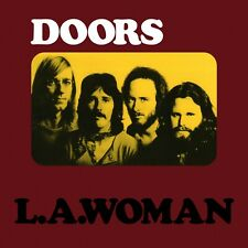 The DOORS L.A. Woman BANNER HUGE 4X4 Ft Fabric Poster Flag Print album cover art