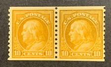 TDStamps: US Stamps Scott#497 10c Franklin Mint H OG 1 Thin, Pair