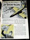 KAMIKAZE PILOTS & RITUALS 1945 PICTORIAL JAPAN WORLD WAR II + GERMAN JET SECRETS