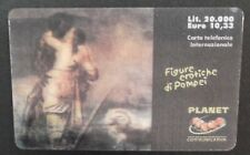 ITALY - PREPAID CARD - PLANET COMMUNICATION - POMPEI - EROTIC - MINT RARE CARD !