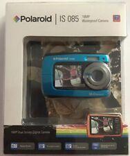 NIP Polaroid iS085 Digital Waterproof Underwater Compact Camera 16.0 MP Blue