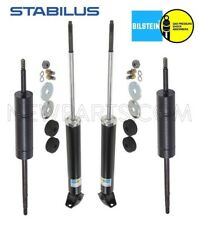 For Mercedes W126 350SD 350SDL Front Shock Absorbers & Engine Torque Dampers Kit