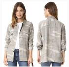 RAILS Everett Desert Camo Shirt Jacket •S• Linen Blend NEW $158