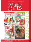 2007-2010 Quilting Arts Magazine Gifts Collection CD 4 Issues