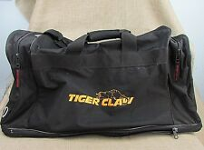 Tiger Claw Tae Kwon Do duffle bag Black 26x11x11 w/carry strap