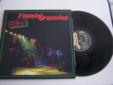 LP 33 TOURS , FLAMIN GROOVIES , LIVE AT THE WHISKEY A GO - GO , VG  / EX .