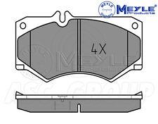 Meyle Freno Pad Set, asse anteriore con piastra anti-squeak 025 207 8418