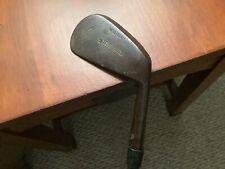 antique hickory golf mashie restored for play