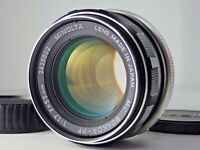 MINOLTA MC Rokkor-PF 55mm f/1.7 MF Wide Lens MD Mount JAPAN JP SLR [Excellent!!]