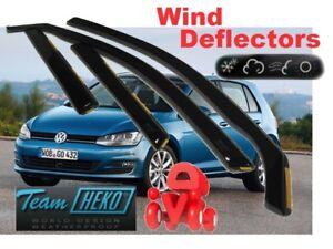 For Volkswagen Golf VI MK6  2009 - 2012  5.doors Wind deflectors 4.pc HEKO 31176