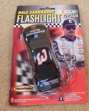 New 2000 NASCAR Dale Earnhardt Sr Flashlight Keychain Goodwrench Service Plus